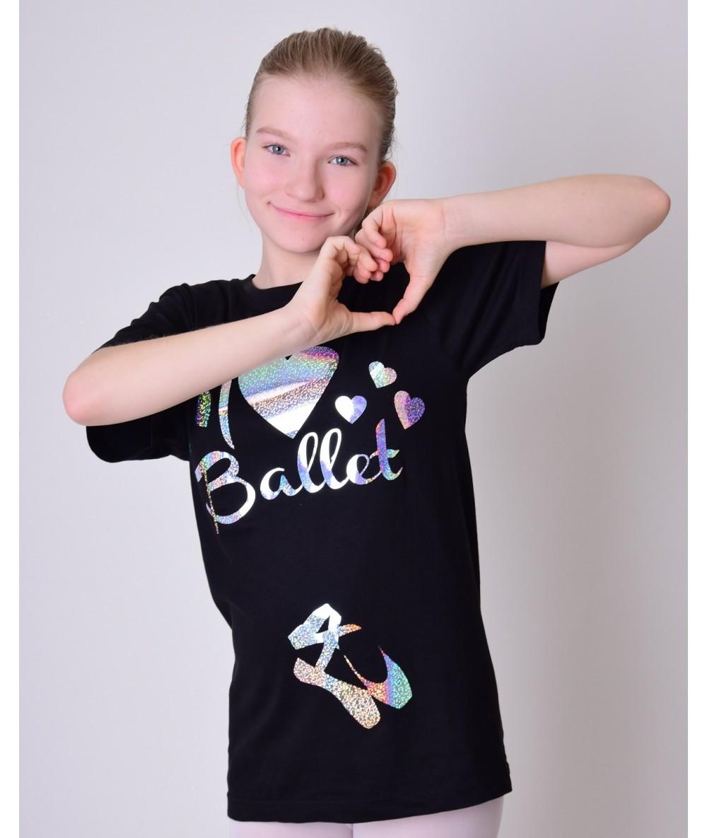 Koszulka I LOVE BALLET